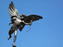 Eros Statue in Piccadilly Circus London Royalty Free Stock Photos