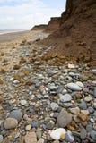 Erosión costera Imagen de archivo libre de regalías