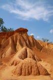 Erosión de suelo hermosa imagen de archivo