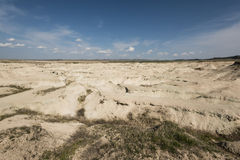 Erosión en Nebraska Imagen de archivo