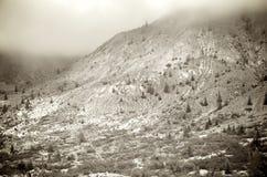 Erosión volcánica Fotografía de archivo libre de regalías