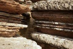 Erosie stock afbeelding