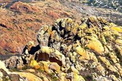 Erosie I Royalty-vrije Stock Fotografie