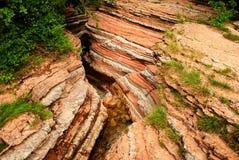 Erosie van de aarde stock foto's