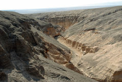 Erosion in the Atacama Desert Royalty Free Stock Photos