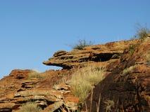 Erosion of the Australian red rocks Royalty Free Stock Photos