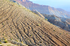 Erosion. 2014.10.5 on China erosion Royalty Free Stock Images