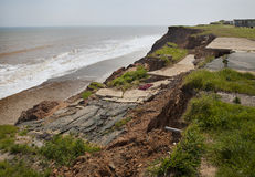 Erosion of cliffs Royalty Free Stock Images