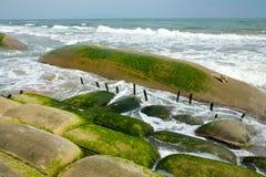Erosion, climate change, worldwide, warming, Vietnam Royalty Free Stock Photography
