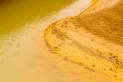 Erosion concept : the process of eroding or being eroded by wind Royalty Free Stock Photography