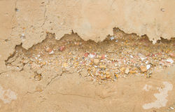 Erosion concept : the process of eroding or being eroded by wind Royalty Free Stock Images