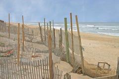Erosion Control Fences Stock Image