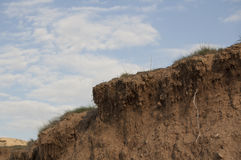 Erosion and drought Stock Photography