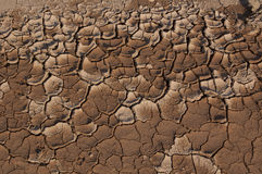 Erosion and drought Stock Images