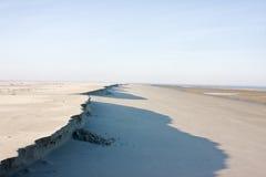 Erosion of dunes Royalty Free Stock Image