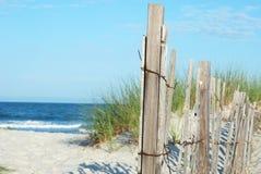 Erosion Fence Stock Image