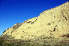 Erosion on hill Royalty Free Stock Photos