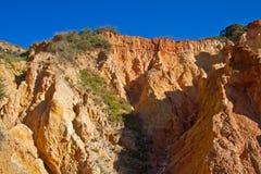 Erosion of sand stone Royalty Free Stock Photo