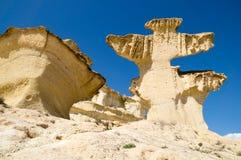 Erosion on sandstone Royalty Free Stock Photo