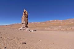 Erosion Sculpted Rocks. In the desert of Atacama, Chile Stock Image