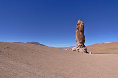 Erosion Sculpted Rocks. In the desert of Atacama, Chile Royalty Free Stock Images
