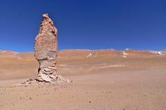 Erosion Sculpted Rocks. In the desert of Atacama, Chile Stock Photos