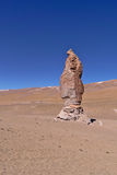 Erosion Sculpted Rocks. In the desert of Atacama, Chile Royalty Free Stock Photography