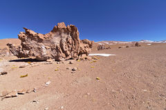 Erosion Sculpted Rocks. In the desert of Atacama, Chile Stock Photography