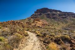 Erosion in Tenerife Stock Images