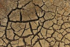 Erosione 1 del terreno Immagini Stock
