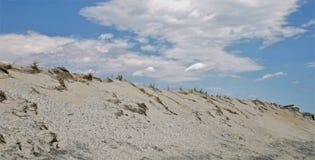 Erosione costiera sulla linea costiera del Jersey fotografia stock libera da diritti