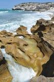 Erosione del mare Immagine Stock Libera da Diritti
