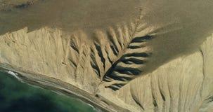 Erosione del suolo come un albero video d archivio