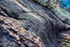 Erosione di rotolamento della roccia Immagini Stock Libere da Diritti