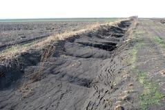 Erosione di vento Fotografie Stock Libere da Diritti
