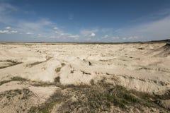 Erosione nel Nebraska Immagine Stock
