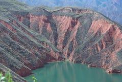 Erosione sulla montagna Immagine Stock Libera da Diritti