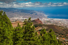 Erosione in Tenerife Fotografia Stock Libera da Diritti
