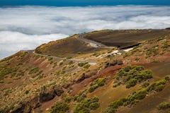 Erosione in Tenerife Immagini Stock