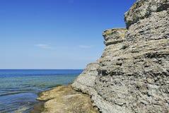 erosionlimestone arkivbilder