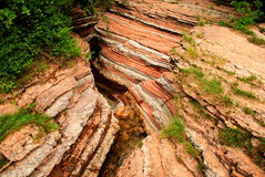 Erosions of the earth Stock Photos