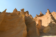 erosionskulptur Royaltyfria Foton