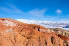 Erosive red rock canyon Stock Photos