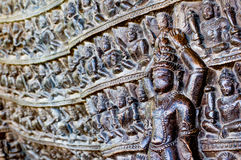 Erotic carvings at Khajurao temples India Stock Images