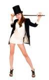 Erotic dancing girl Royalty Free Stock Image