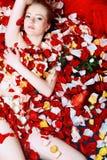 Erotic flowers Stock Image