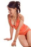 Erotic girl Stock Photo