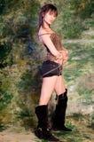 Erotic girl Royalty Free Stock Image