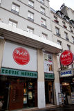 Erotic Museum in Paris Royalty Free Stock Photography