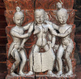 Erotic sculpture Stock Images